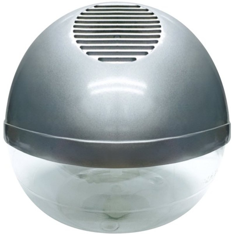 Water Air Purifier with Ionizer and LED - Silver Singapore