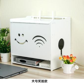 WiFi storage box wireless router storage box set line box cat CardWire inserted row machine set-top box shelving rack