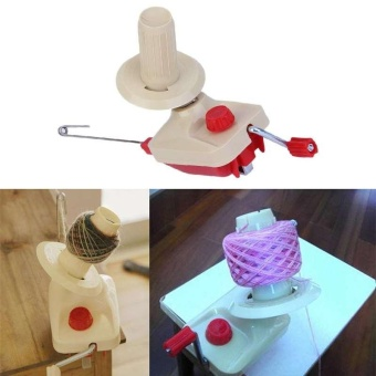 Harga Winder Machine Hand Operated Yarn Winder Fiber Wool String BallThread Skein - intl