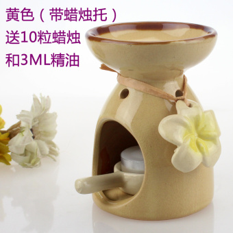 With ceramic candle yoga spa museum fragrant aromatherapy lights incense aromatherapy Furnace