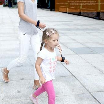 1.5M Kids Toddler Anti-lost Wrist Link Band Children Braclete Wristband Baby Elastic Harness