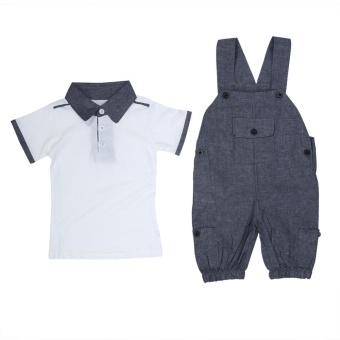 2pcs Baby Boys Clothes Outfit Toddler Kid Boy Outfits Shirt + Pants- intl