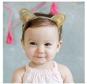 Baby Child Day floral headdress baby hair bands