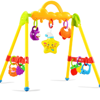Baby music projection baby fitness frame baby fitness