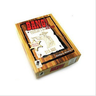 Bang luxury big box in the bullet to kill the game cards