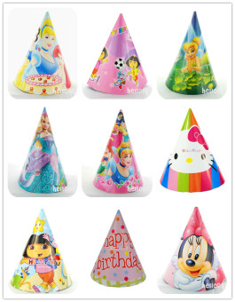 Birthday holiday party supplies party hat cone hat 2