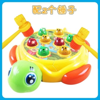 Children's Yi Zhi large music game machine to play to the mouse