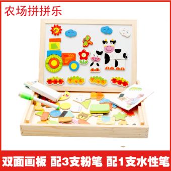 Children's puzzle toy boy girl Educational Building Blocks magnetic