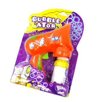 Colorful not leaking electric bubble machine gun