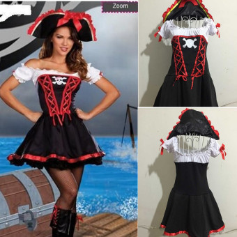 COS pirate clothing pirate dress