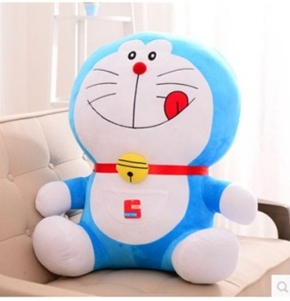 Harga DORAEMON doll machine cat plush toy cat Doraemon blue fat clothdoll guaranteed birthday gift