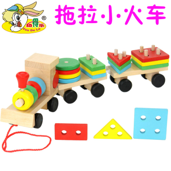 Geometric Shape set column early childhood educational toys three day train
