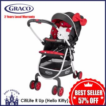 Harga Graco CitiLite R Up Stroller Limited Edition (Hello Kitty) - LocalWarranty