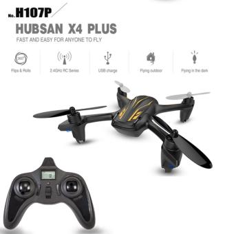 Hubsan H107P Drone 4 Channel Altitude mode 2.4GHz RC SeriesQuadcopter(Black)