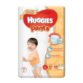 Harga Huggies Gold Pullup Pants L 44pcs