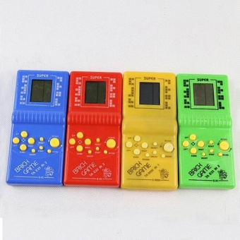 iBelieve Tetris Brick Game Handheld Game Machine Kid Game Toy - intl