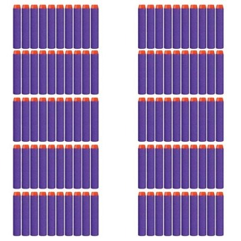 Harga Refill Bullet Darts for Nerf 7.2cm 100pcs Purple - intl