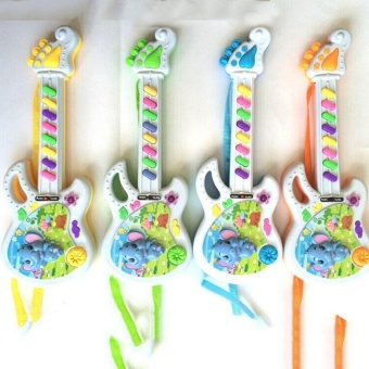 Musical Electronic Guitar Toy Educational Toys Early Toddler For Baby Music Play - intl