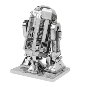 Harga LALANG 3D Metal R2-D2 Model Adults Kids Toys (Silver)