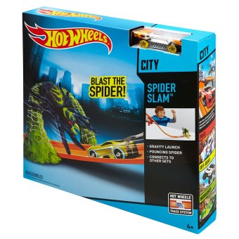 Harga Hot Wheels® SPIDER SLAM™ Track Set