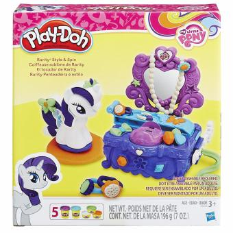 Harga Play-Doh My Little Pony Rarity Style and Spin Set