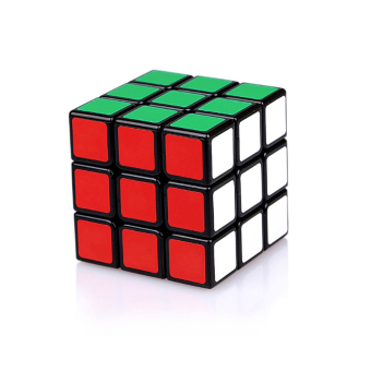 Rubik's Cube Children Speed Cube Professional Developmental Game Magic Puzzle Black Twist Puzzles Toy