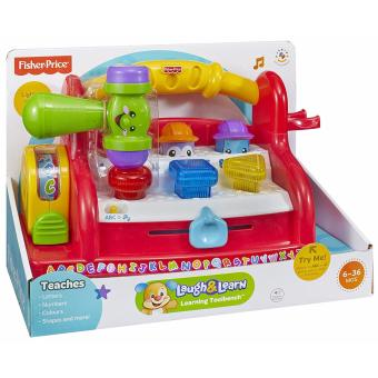 Harga Fisher Price Laugh & Learn Learning Toolbench