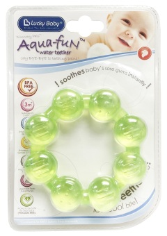 Harga Lucky Baby® 606018 Aqua-Fun™ Water Teether - Beads Ring