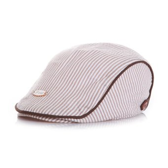 Cute Baby Kids Infant Boy Girl Stripe Beret Caps Peaked Casquette Baseball Hats