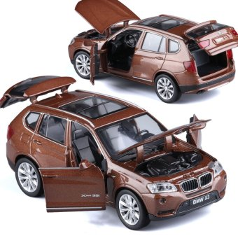 Harga BMW alloy car model children's toys boxed