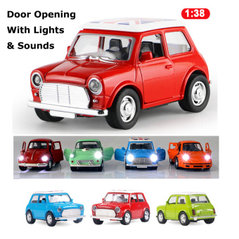 Harga 1:38 Scale Die-cast Mini Cooper with Light & Sounds