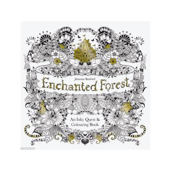 Harga Themed Colouring Book (Enchanted Forst)