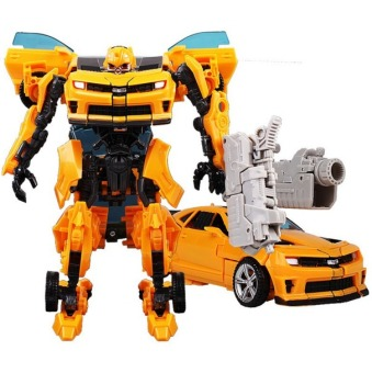 Harga Transformations Robot Car Action Figures Toys Brinquedos Optimus Prime Model Juguetes Class Boys Birthday Gift 8