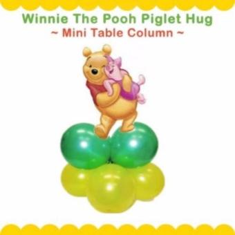 Harga Winnie The Pooh Piglet Hug Mini Table Balloon Column