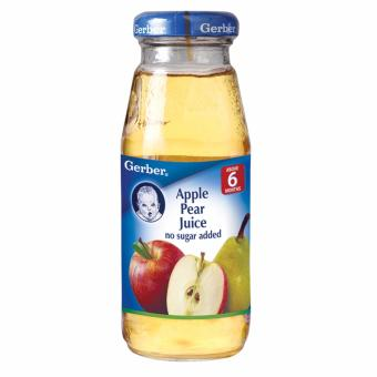 Harga GERBER 100% Natural Apple Pear Juice 175ml