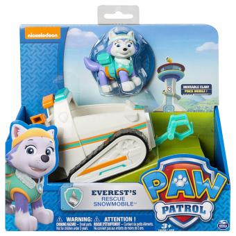 Harga Paw Patrol Everest's Rescue Snowmobile, Vehicle and Figure