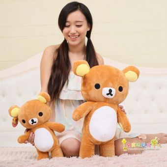 Harga Japanese kawaii 35cm/50cm rilakkuma plush big teddy bear plush toy rilakkuma pillow, rilakkuma bear car decoration