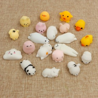 Harga Fengsheng 20Pcs Soft Rising Squishy Squeeze Cute Animal Expression Nice Kids Kawaii - intl