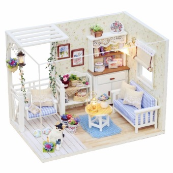Harga Chi fun house diy hut cat diary