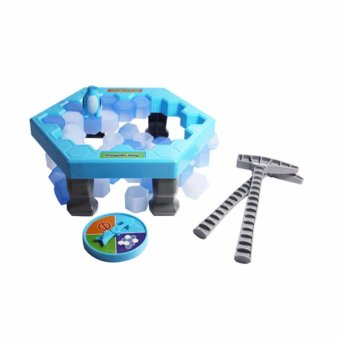 Harga YingWei Puzzle table games penguin ice pounding penguin ice cubes save penguin knock ice block wall toys desktop paternity interactive game - intl