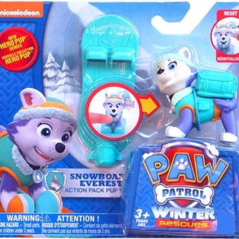 Harga New Cute Kid Children Paw Patrol Everest Action Pup Ski board Toy Gift - intl