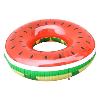 Harga Giant Inflatable Watermelon Pool Floating Swimming Floating Raft Toys - intl