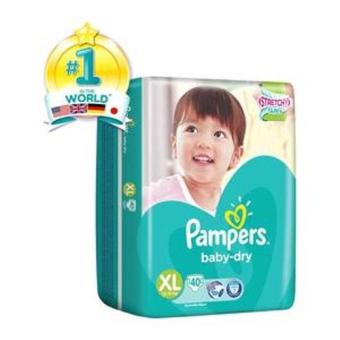 Pampers Baby Tapes Xl40