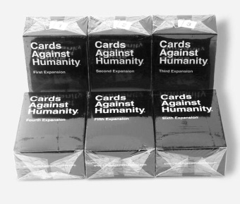 Harga 6set Humanity Cards Game 1-6 Expansion Cards Games Humanites Card Game 100 Cards Unbeatable Classic - intl