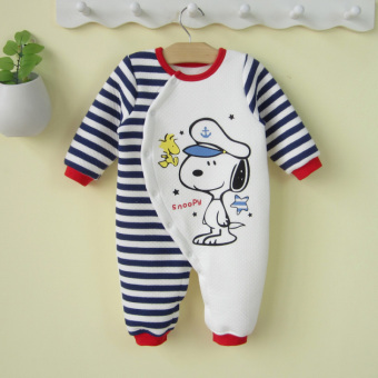 Harga 0-1-year-old newborn male baby one-piece clothes baby spring romper newborn children Siamese clothes Spring and Autumn 0-3-6 a month