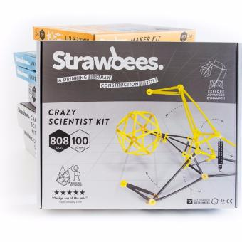 Harga Strawbees Crazy Scientist Kit(Grey)