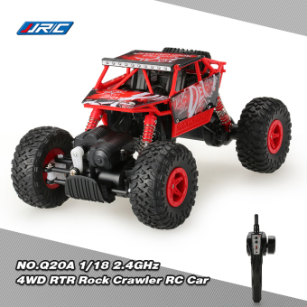 Harga Original JJRC NO.Q20A 1/18 2.4GHz 4WD RTR Rock Crawler RC Car Upgraded Version - intl