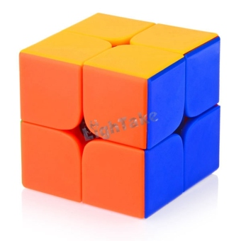 Harga Brand New 46mm 2x2x2 DaYan 1st Generation Stickerless Magic Cube Speed Puzzle Cubes Toys for kid Child - intl