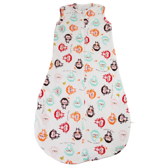 Harga Colorful Monkeys Baby Sleeping Bag Cotton Soft Comfortable And Sleeveless(6-24 months)