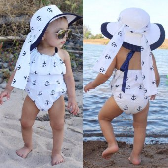 Infant Baby Kids Girls Bodysuit Romper Jumpsuit Outfits Sunsuit Clothes - intl